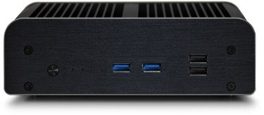 Front view of the UltraNUC Pro 7 Fanless PC - Newton S7 (not Core i7 compatible)