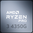 Ryzen 3 PRO 4350G 3.8GHz 4C/8T 65W AM4 APU with Radeon Graphics 6