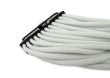 White Braided 24-pin ATX Extension