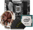 Quiet PC Intel 9th Gen CPU and micro-ATX Motherboard Bundle