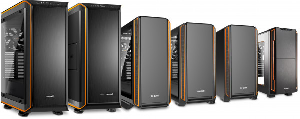 Serenity Pro Gamer i10, be quiet chassis, 900, 800, 601 and 600